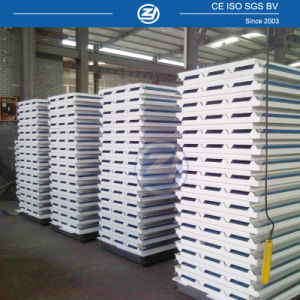 Zhejiang Corrugated EPS Sandwich Panel Price pictures & photos