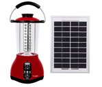 Rechargeable Emergency Camping Light with Solar Panel and Radio pictures & photos