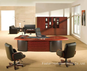 European Style Wooden Executive Boss CEO Manager Desk (HF-MH09232) pictures & photos