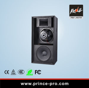 Dual 15 Inch 3-Way Loudspeaker with CE & RoHS Certificates pictures & photos