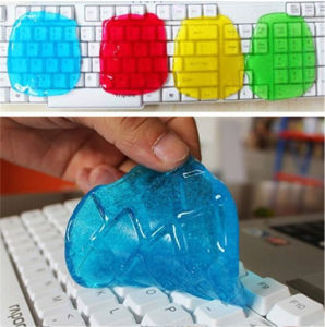 Cyber Super Clean Magic Dust Cleaning Compound Slimy Gel Wiper for Keyboard Laptop pictures & photos