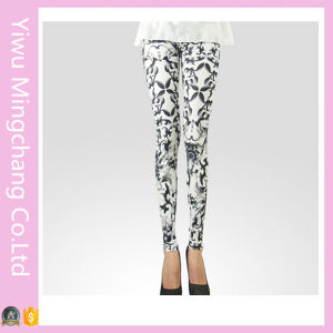 Fashion Comfortable Skinny Printed Pencial Pants (20263) pictures & photos