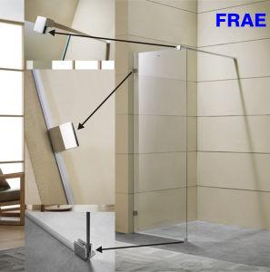 Walk-in 8mm (5/16′′) Toughen Glass Shower Screen pictures & photos