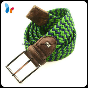Multi-Color Fashion Elastic Braided Stretch Waist Belt pictures & photos