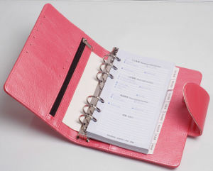Customizable Loose Leaf Datebook with Bank Card Pocket pictures & photos