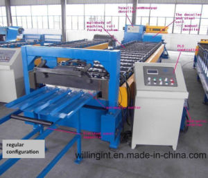Galvanized Corrugated Steel Roof Roll Forming Machine pictures & photos