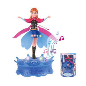 Novetly Design Frozen Princess Plastic RC Flying Doll (10249849) pictures & photos