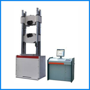Hydraulic Universal Material Tensile Testing Machine for Metal Steel Aluminum pictures & photos