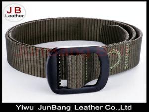 Men′s Nylon Tactical Military Belt Adjustable Webbing Belt pictures & photos