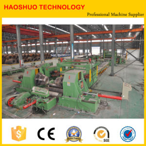 Steel Sheet Leveling and Cutting Line pictures & photos