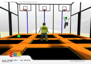 High Quality of Indoor Trampoline Park pictures & photos