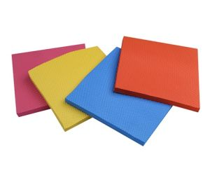 High Quality Rubber EVA Foam Sheet with Stripe in Middle for Shoe Sole pictures & photos