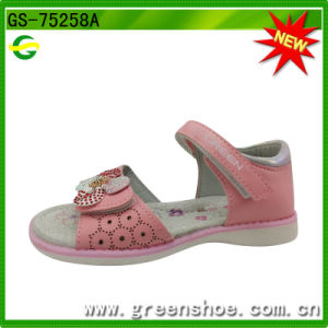 Girls Summer Flower Beach Sandals Soft and Comfortable pictures & photos