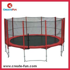 Createfun Cheap 15ft Large Outdoor Kids Jumping Trampoline