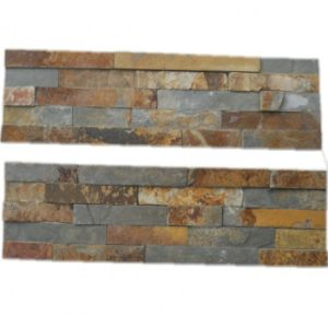 Beige/Yellow/Rusty Wall Cladding Culture Slate Tile pictures & photos