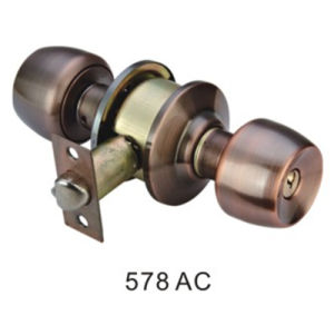 Stainless Steel/Iron Door Lock Knob Cylindrical Lock (578 AC) pictures & photos
