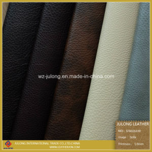 Two Tone Printing Semi PU Leather(SFB026) pictures & photos