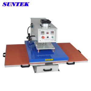Downglide Pneumatic Heat Press T-Shirt-Printing-Machine (STM-P06) pictures & photos