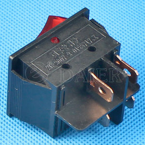High Current 30A 250VAC Carling Rocker Switch pictures & photos