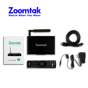 Zoomtak T8V Amlogic S905 2GB RAM 16GB Emmc Kodi 16.1 Android TV Box pictures & photos