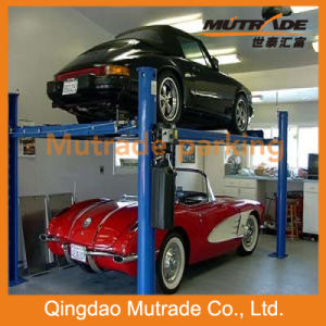 Four Post Hydraulic Drive Elevator Auto Car Parking pictures & photos