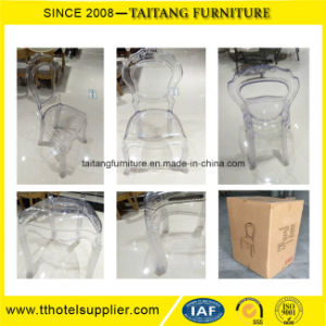 Luxury Clear Wedding Crystal Furniture Chair pictures & photos