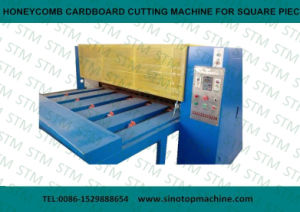 Honeycomb Cardboard Slitting Machine for Small Pieces pictures & photos