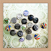 Pearl Prong Snap Button Oeko Plateing pictures & photos
