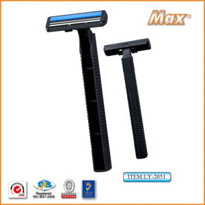 Hot Twin Stainless Steel Blade Disposable Shaving Razor (LY-2051) pictures & photos