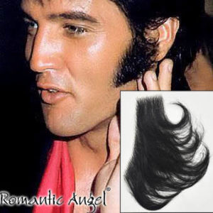 Elvis Presley Sideburns 100% Human Hair Full Hand Tied Fake Mustache Beard for Cosplay/Drama/Party/Film/Costume pictures & photos