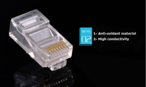 Factory Price Cat5e/6 Unshielded RJ45 Modular Plugs pictures & photos