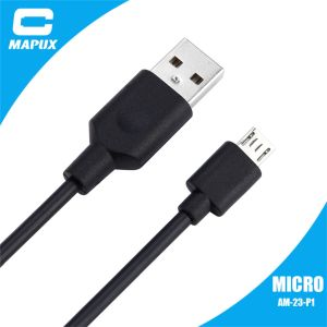 PVC Material Micro USB Cable for Samsung