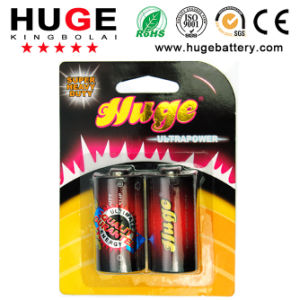 1.5V C Size Um-2 Carbon Zinc Dry Battery (R14C) pictures & photos