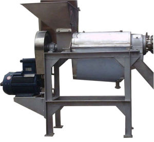 Stainless Steel 1.5t/H Screw Juicer for Pear, Apple, Orange pictures & photos