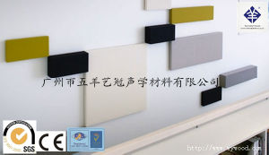 Acoustic Fabric Wapped Decorative Wall Panel (2.5SLN) pictures & photos