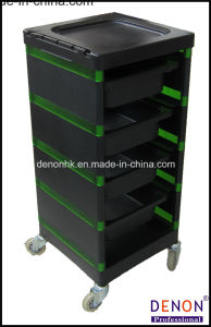 Trolley with Black and Green Color Dn. A187 pictures & photos