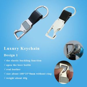 Newest Fashion Metal Beer Bottle Opener Ring Key Chain pictures & photos