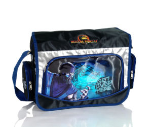 Top Quality Cross Jacquard Student School Shoulder Bag for Childeren (BSH20726) pictures & photos