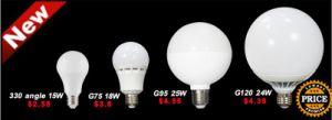 E27 LED Bulb 3W 5W 8W 9W 12W 15W pictures & photos