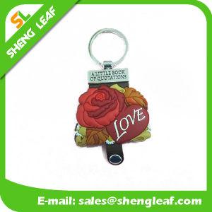 OEM Wedding Souvenir Gift Items 3D Soft PVC Love Keyring pictures & photos