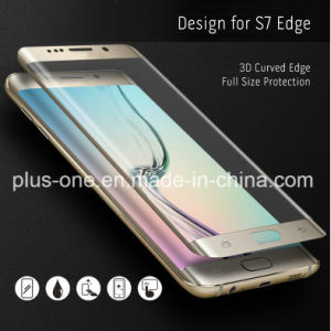 3D Curved Mobile Phone Accessories Tempered Glass Screen Protector for Sam Galaxy S7 Edge pictures & photos