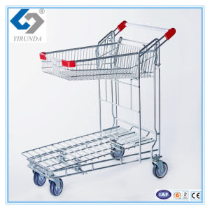 Foldablle Warehouse Cargo Trolley pictures & photos
