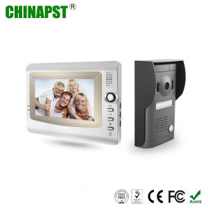 Color 7′′ LCD Screen Vandalproof Villa Wired Video Intercom (PST-VD972C) pictures & photos