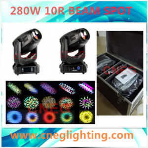 China Manufacturer 280W Wash Spot Beam Moving Head Light