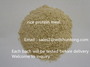Protein Powder Rice Protein Powder for Animal Feed pictures & photos