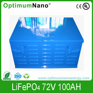 Electric Car Battery LiFePO4 72V 100ah with BMS pictures & photos