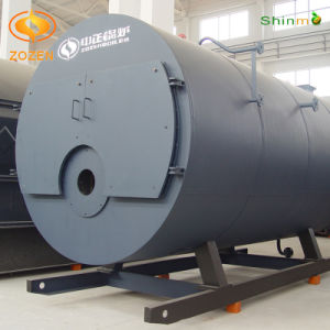 Safety and Low Emission Diesel Fired Hot Water Boiler