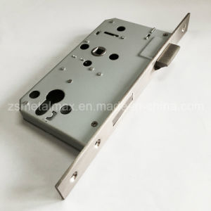 Stainless Steel Hotel Deadbolt Mortise Cylinder Door Lock Body (LB6072-YY) pictures & photos