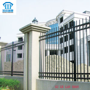 High Quality Wrought Zinc Steel Fence 015 pictures & photos