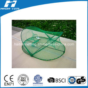 Green Color Semi-Oval Crab Net (HT-CN-0004) pictures & photos